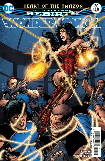 Wonder Woman #30 cover
