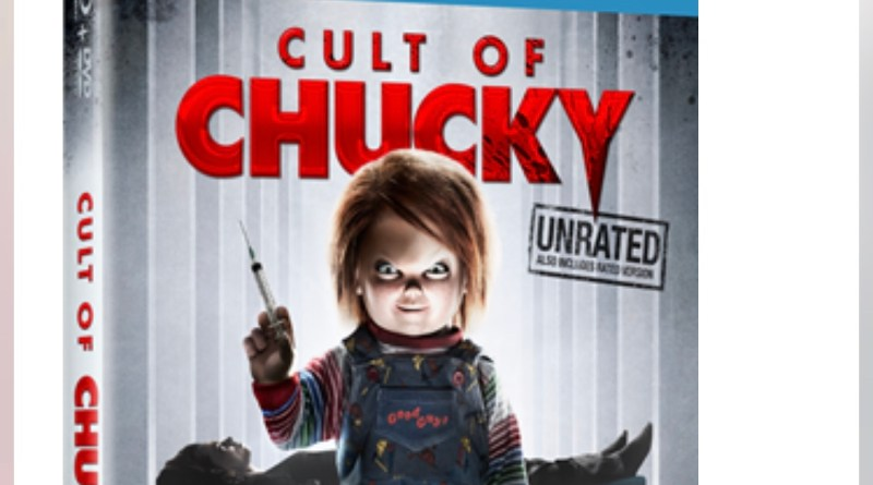Cult of Chucky giveaway blu ray cover