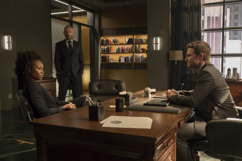 Arrow Next of Kin - Agent Watson, Lance and Oliver
