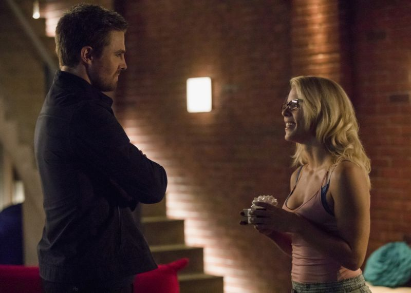 Arrow Next of Kin - Oliver and Felicity