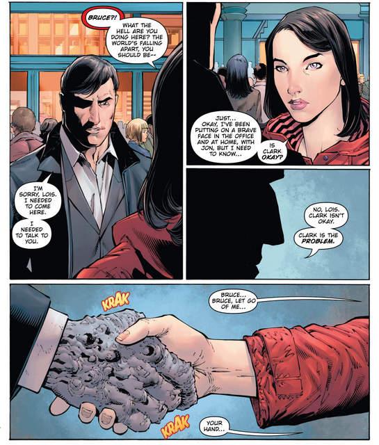 Batman Devastator #1 interior art