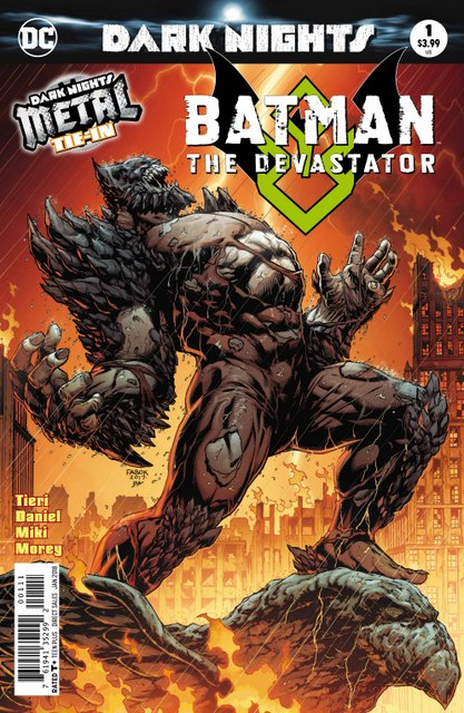 Batman Devastator #1 cover