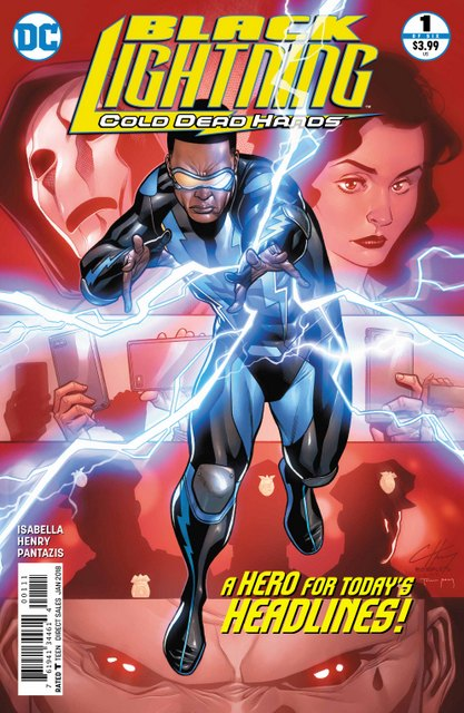 Black Lightning Cold Dead Hands #1 cover