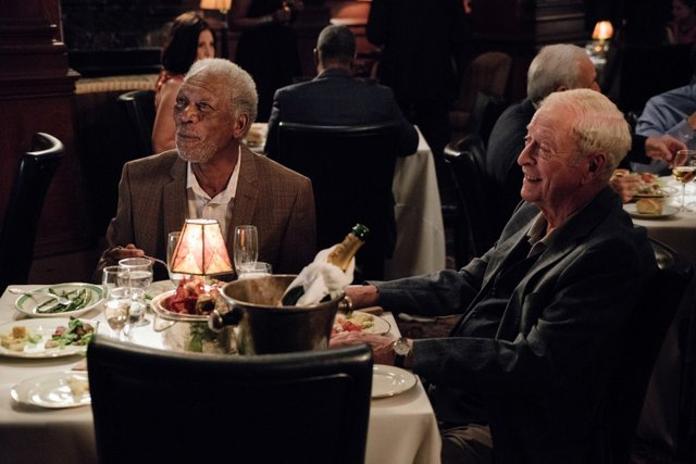 Going in Style movie review - Morgan Freeman and Michael Caine
