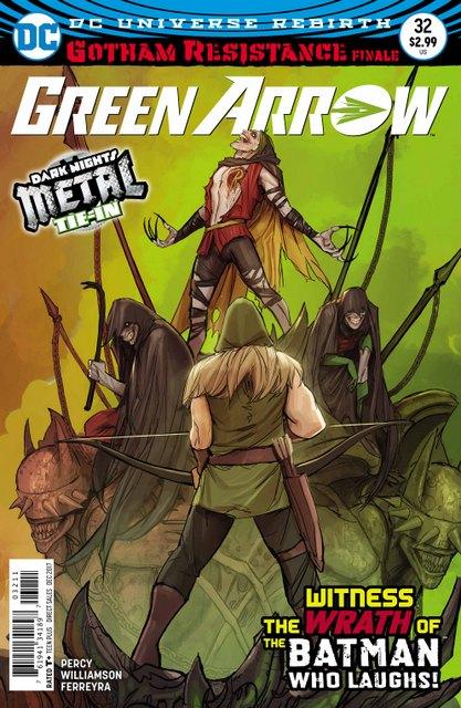 Green Arrow #32 cover