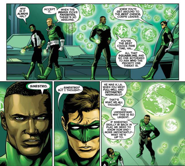 Hal Jordan and the Green Lantern Corps #30 interior art