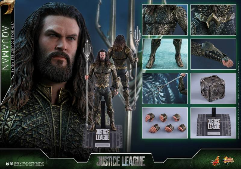 Hot Toys Aquaman figure -collage