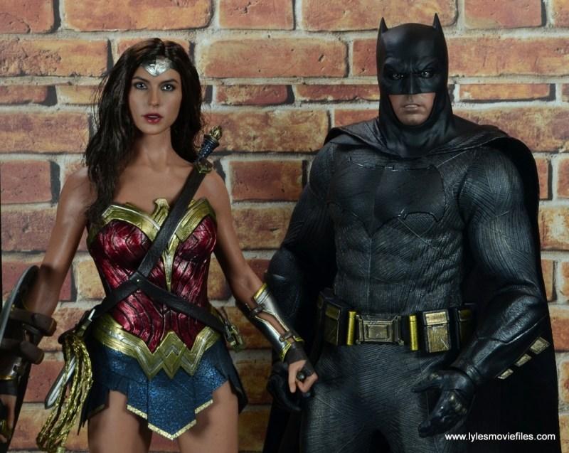 Hot Toys Batman v Superman Batman figure review -with Wonder Woman