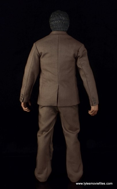 Hot Toys Bruce Banner figure review -rear