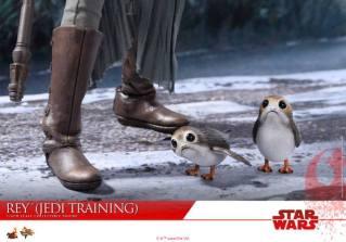Hot Toys The Last Jedi Rey Jedi Training figure - poorgs