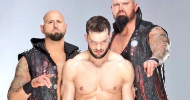 Karl Anderson, Finn Balor and Doc Gallows Bullet Club WWE