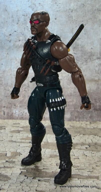 Marvel Legends Blade figure review -left side