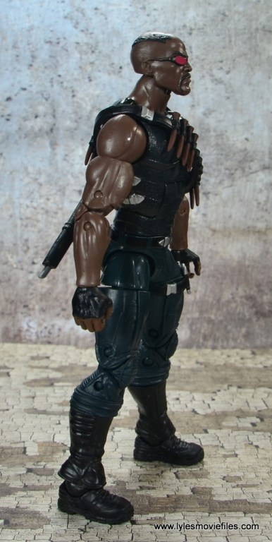 Marvel Legends Blade figure review -right side