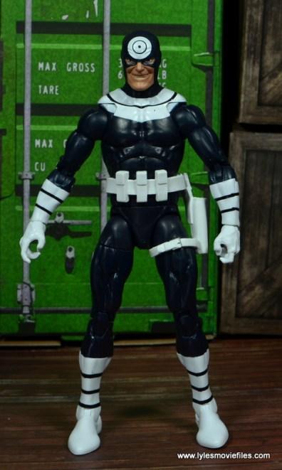Marvel Legends Bullseye figure review - front