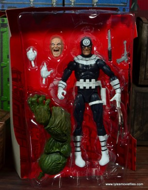 Marvel Legends Bullseye figure review - in tray
