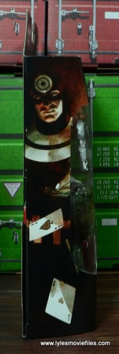Marvel Legends Bullseye figure review - package side