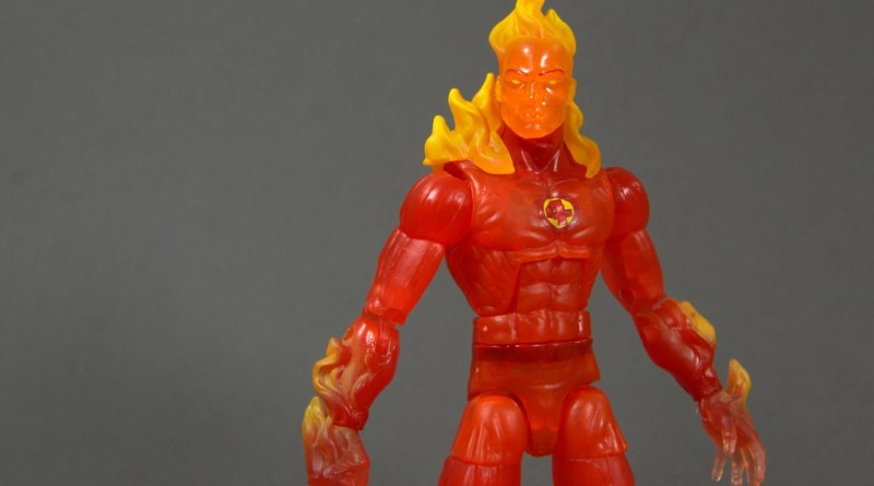 Marvel Legends The Human Torch figure review - main pic