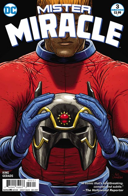 Mister Miracle #3 cover