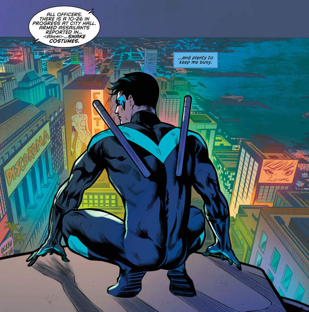 Nightwing #30 interior art