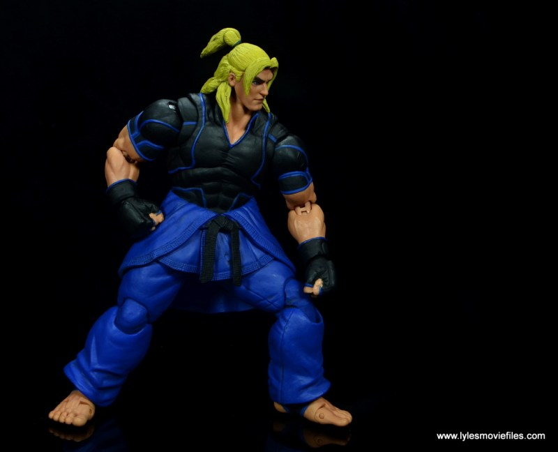 Storm Collectibles Street Fighter V Ken figure review - deep fight stance