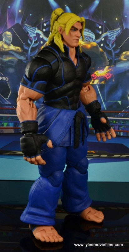 Storm Collectibles Street Fighter V Ken figure review - right side