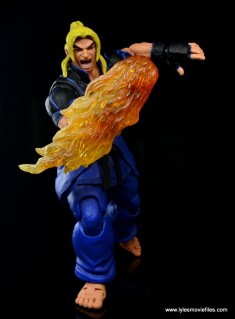 Storm Collectibles Street Fighter V Ken figure review -rising flaming Dragon Punch