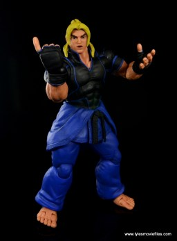 Storm Collectibles Street Fighter V Ken figure review - taunting