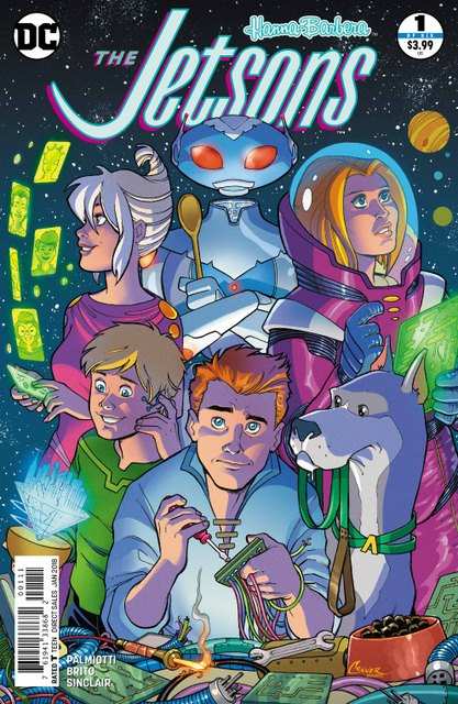 The Jetsons #1 cover