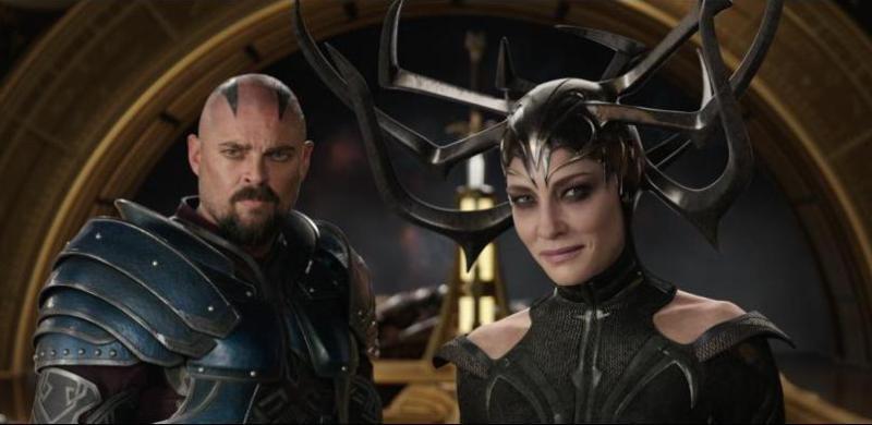 Thor Ragnarok review - Skurge the Executioner and Hela