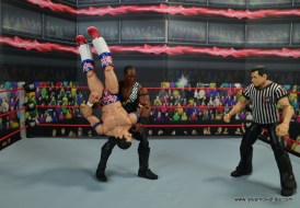 WWE Elite Farooq and The Rock Nation of Domination figure review set - Dominator to British Bulldog