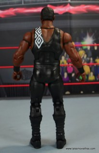 WWE Elite Farooq and The Rock Nation of Domination figure review set - Farooq rear