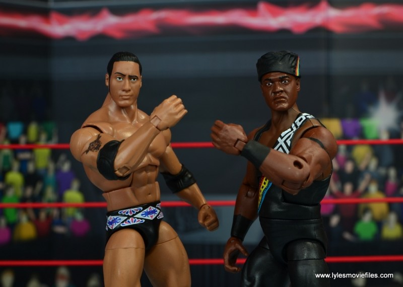 WWE Elite Farooq and The Rock Nation of Domination figure review set -main pic