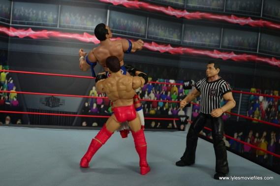 WWE Elite Ken Shamrock figure review - belly to back suplex to British Bulldog