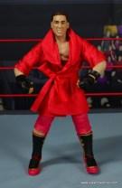 WWE Elite Ken Shamrock figure review - front with robe