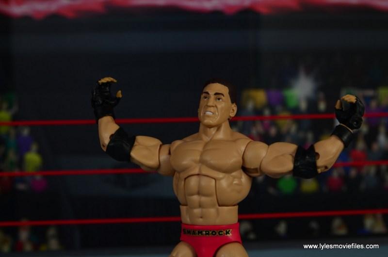 WWE Elite Ken Shamrock figure review - wide shot