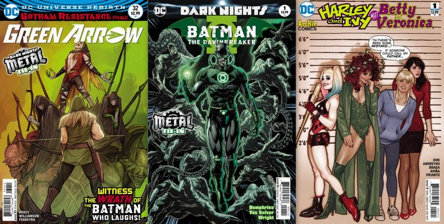 DC COMIC REVIEWS 10/4/17