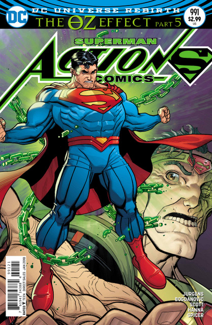 Action Comics #991 cover
