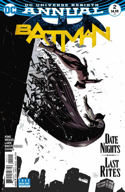 Batman Annual #2 cover