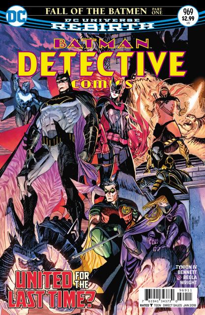 Detective Comics #969 cover
