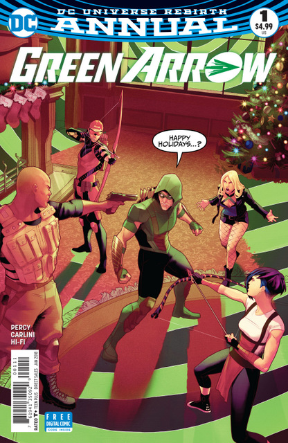 Green Arrow Annual #1 cover
