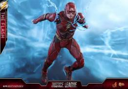 Hot Toys Justice League The Flash figure - racing