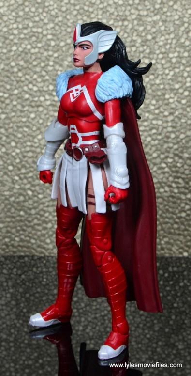 Marvel Legends A-Force Lady Sif figure review -left side