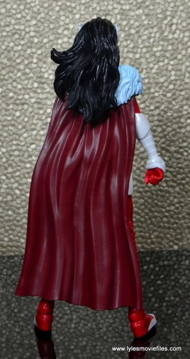 Marvel Legends A-Force Lady Sif figure review -rear