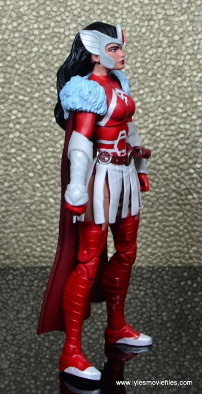Marvel Legends A-Force Lady Sif figure review -right side