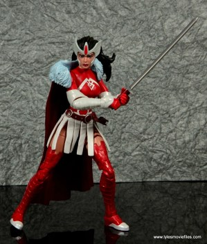 Marvel Legends A-Force Lady Sif figure review -with sword