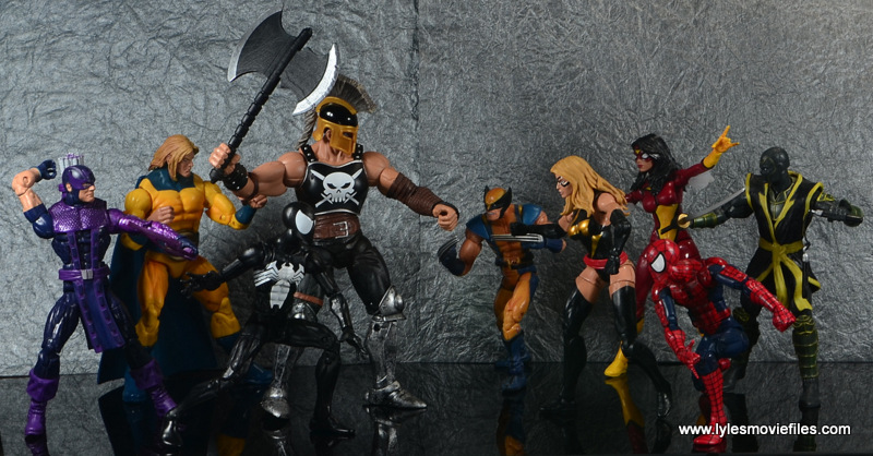 Marvel Legends Ares figure review -Dark Avengers vs New Avengers