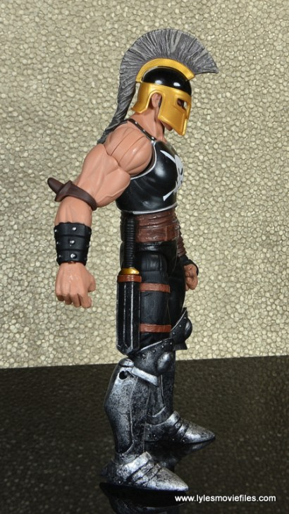 Marvel Legends Ares figure review -right side