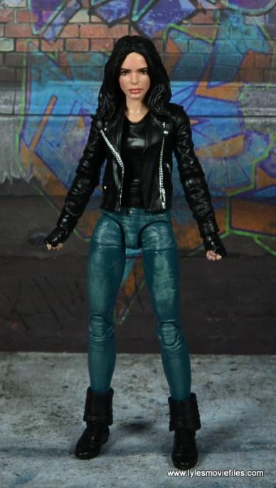 Marvel Legends Jessica Jones figure review - front