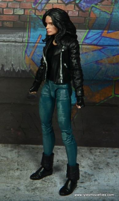 Marvel Legends Jessica Jones figure review - left side