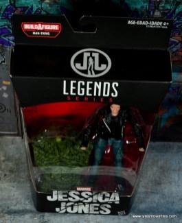 Marvel Legends Jessica Jones figure review - top package
